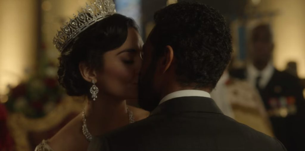 the princess switched again - margaret and kevin sweet kiss, princess