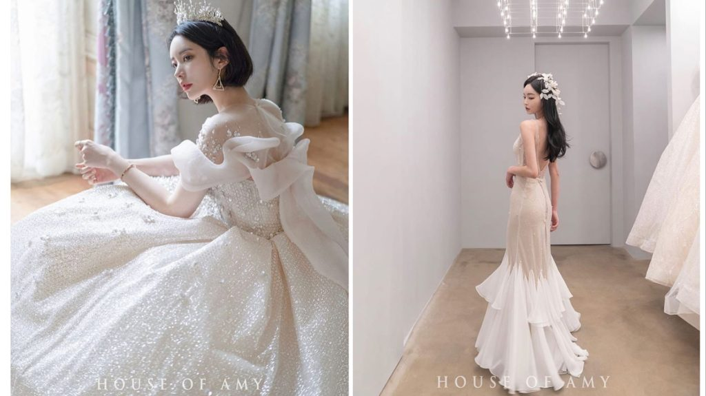 Korean wedding dress brands list (best luxurious brands)